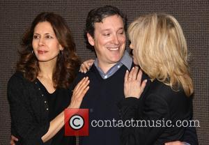 Jessica Hecht, Jeremy Shamos and Judith Light - Press junket for the Manhattan Theatre Club production of 'The Assembled Parties'...