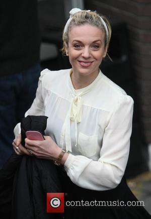 Amanda Abbington - Celebrities at the ITV studios - London, United Kingdom - Tuesday 26th February 2013