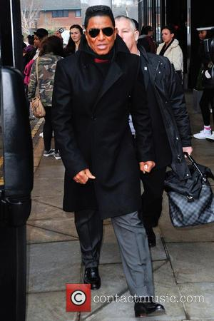 Jermaine Jackson - The Jacksons leave their hotel in Birmingham ahead of the opening night  performance of The Jacksons...