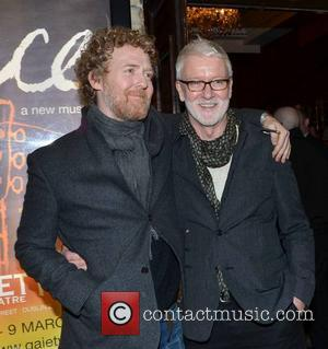 Glen Hansard and John Harte (producer)