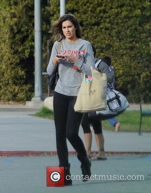 Katherine Webb - Celebrities practice their dives for the upcoming ABC show 'Splash' - Los Angeles, California, United States -...