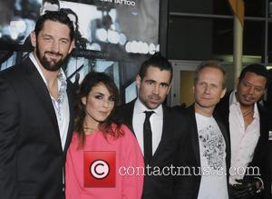 Wade Barrett, Noomi Rapace, Colin Farrell, Niels Arden Oplev and Te