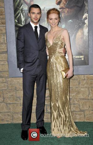 Nicholas Hoult and Eleanor Tomlinson - Premiere of 'Jack The Giant Slayer' at TCL Chinese Theatre in Hollywood - Los...