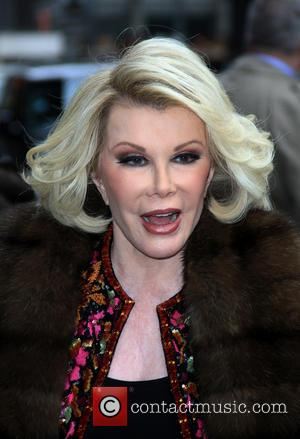 Joan Rivers - Celebrities outside the Ed Sullivan Theatre for 'The Late Show with David Letterman' - New York City,...