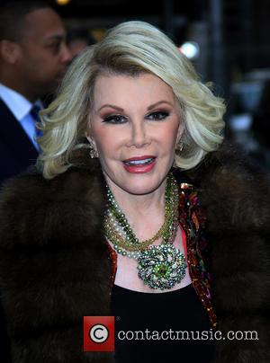Joan Rivers - Celebrities At The Ed Sullivan Theatre