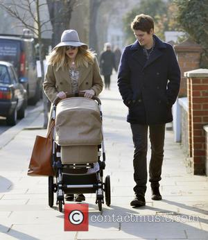 Fearne Cotton, Jesse Wood and Rex Rayne Wood