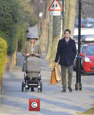 Fearne Cotton - Fearne Cotton and Jesse Wood with baby...
