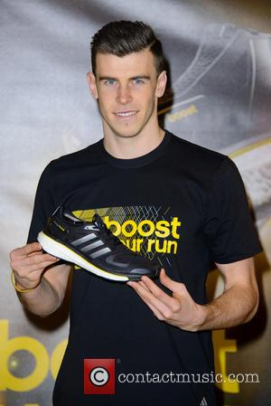 Gareth Bale - Tottenham Hotspur football player Gareth Bale meets fans for an instore signing at the Adidas Performance Store...