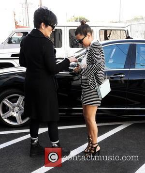 Kourtney Kardashian and Kris Jenner