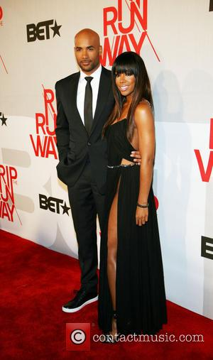 Boris Kodjoe and Kelly Rowland - BET's Rip The Runway 2013:Red Carpet arrivals - New York City, NY, United States...