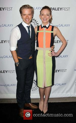 Jayma Mays and Adam Campbell - The PaleyFest Icon Award at The Paley Center for Media, Beverly Hills - Los...
