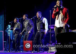 Tito Jackson, Jackie Jackson, Marlon Jackson and Jermaine Jackson