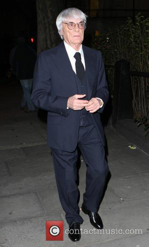 Bernie Ecclestone - Bernie Ecclestone arrives for the launch of the Wings for Life event at The Cord Club, raising...