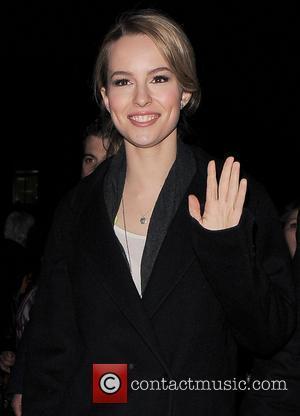 Bridgit Mendler - Bridgit Mendler walks back to her hotel after leaving the BBC Radio 1 studios - London, United...