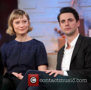 Mia Wasikowska and Matthew Goode
