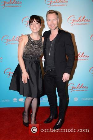Laura Michelle Kelly and Ronan Keating