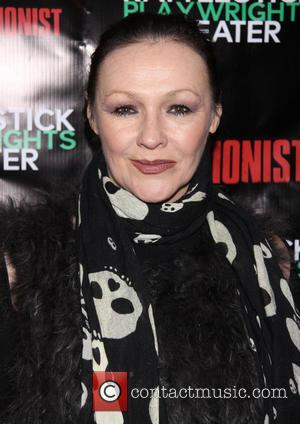 Frances Barber - Premiere of 'The Revisionist' held at the Cherry Lane Theatre - Arrivals - New York City, United...