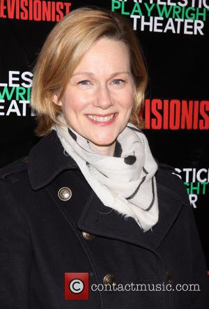 Laura Linney - Premiere of 'The Revisionist' held at the Cherry Lane Theatre - Arrivals - New York City, United...