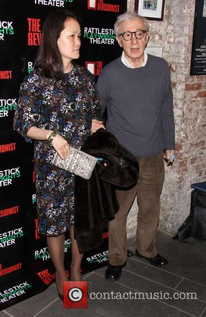 Soon-Yi Previn and Woody Allen - Premiere of 'The Revisionist' held at the Cherry Lane Theatre - Arrivals - New...