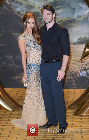Una Healy and Ben Foden - U.K. premiere of 'Oz the Great and Powerful' held at the Empire, Leicester Square...