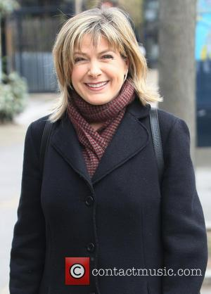 Penny Smith - Celebrities outside the ITV studios - London, United Kingdom - Thursday 28th February 2013
