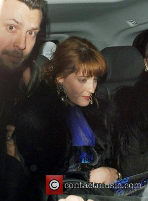 Florence Welch - Celebs at NME Awards After Party at The Ivy - London, United Kingdom - Thursday 28th February...