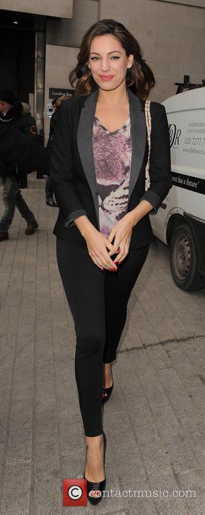 Kelly Brook - Kelly Brook leaving the BBC Radio 1 studios - London, United Kingdom - Thursday 28th February 2013