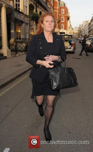 Sarah Ferguson - Sarah Ferguson Duchess of York out and about in Mayfair - London, United Kingdom - Thursday 28th...