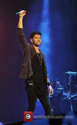Danny O'Donoghue and The Script - The Script perform their first of three sold out concerts at The O2 Dublin...