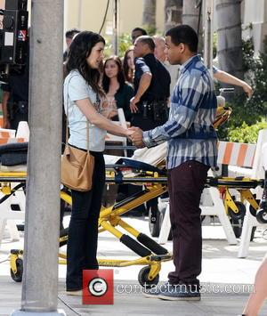Shenae Grimes and Tristan Wilds