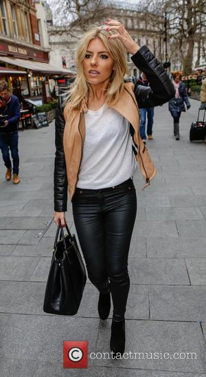 Mollie King and The Saturdays - Celebrities outside the Capital FM studios - London, United Kingdom - Friday 1st March...