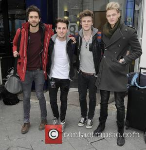 Andy Brown, Ryan Fletcher, Joel Peat, Adam Pitts and Lawson
