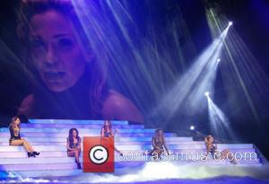 Girls Aloud, Nicola Roberts, Cheryl Cole, Nadine Coyle, Kimberley Walsh and Sarah Harding - Girls Aloud performing live in concert...