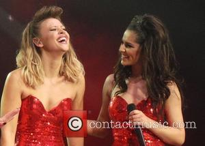 Girls Aloud, Kimberly Walsh and Cheryl Cole - Girls Aloud performing live in concert on their '10' tour at the...