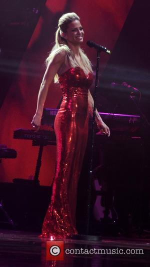 Girls Aloud and Sarah Harding - Girls Aloud performing live in concert on their '10' tour at the O2 -...