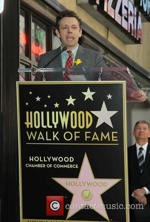 Michael Sheen - The late Richard Burton is honoured with a Hollywood Star on the Hollywood Walk of Fame -...