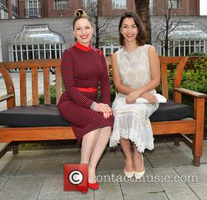 Imelda May and Danielle Ryan - 16th Annual UNICEF Ireland Mother's Day Lunch at The Four Seasons Hotel - Dublin,...