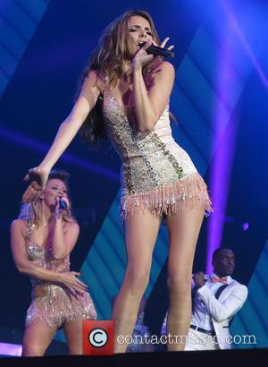 Nadine Coyle - Girls Aloud perform live in concert on their '10' tour at the O2 Arena London - London,...