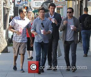 Jerry O'connell, Tony Shalhoub, Kal Penn and Christopher Nicholas Smith