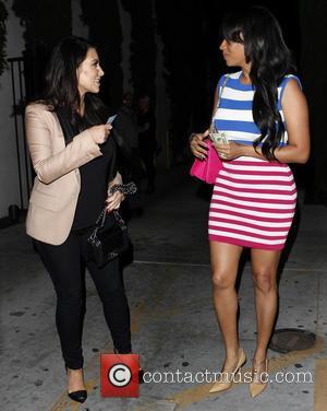 Kim Kardashian and La La Vasquez
