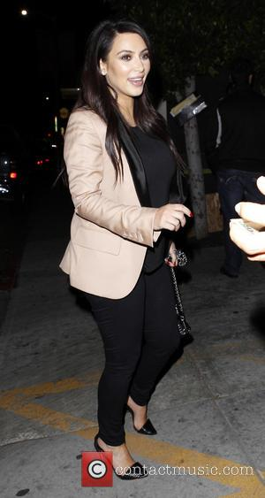 Kim Kardashian - Pregnant Kim Kardashian and La La Vasquez...