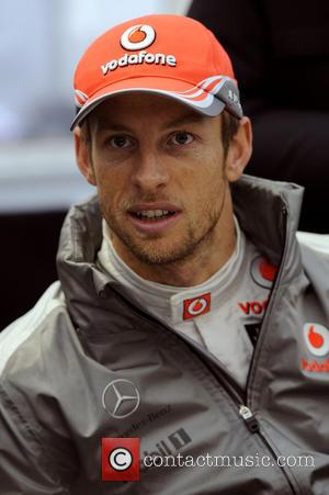 Jenson Button of Great Britian - Formula 1 test session at Montmelo Racetrack - Barcelona, Spain - Saturday 2nd March...