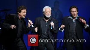 Jay Osmond, Jimmy Osmond and Merrill Osmond - The Osmonds perform at the Indigo2 club inside The O2 - London,...