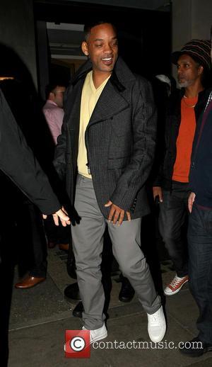 Will Smith - Will Smith in good spirits as he leaves Nobu Berkley restaurant - London, England, United Kingdom -...