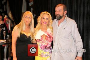 Coco Austin - Coco Austin is seen meeting and greeting fans at the Peepshow Giftshop in the Planet Hollywood Casino...