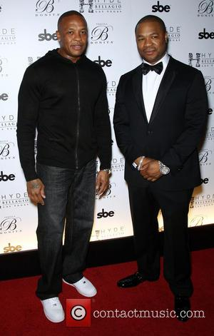 Dr Dre and Xzibit - Xzibit hosts the Official Bonita Platinum Tequila Red Carpet Launch Party in Las Vegas at...