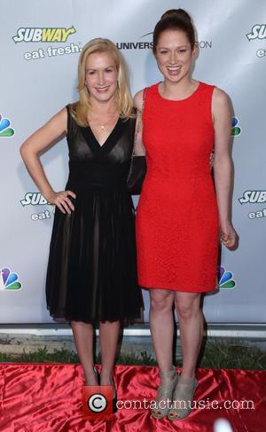 Angela Kinsey and Ellie Kemper - 'The Office' series finale wrap party at Unici Casa - Culver City, California, United...