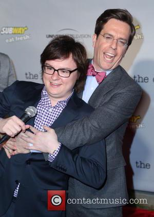 Clark Duke and Ed Helms