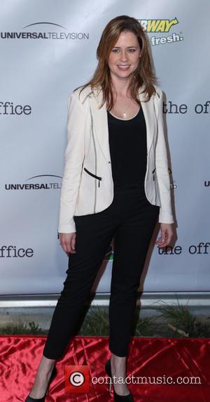 Jenna Fischer - 'The Office' series finale wrap party at Unici Casa - Culver City, California, United States - Saturday...