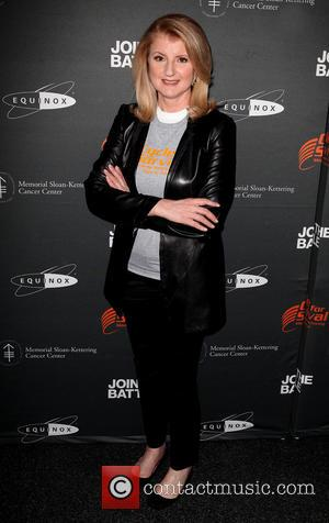 Arianna Huffington - 'Cycle for Survival' event held at Equinox in Rockefeller Center - Arrivals - New York City, NY,...